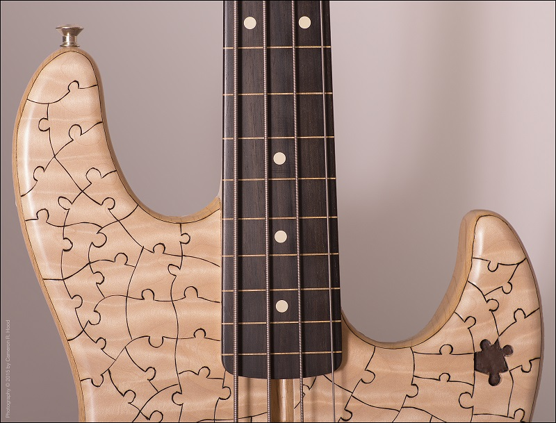 Art-Liestman-Puzzle-Jazz-Bass[Neck-Joint]
