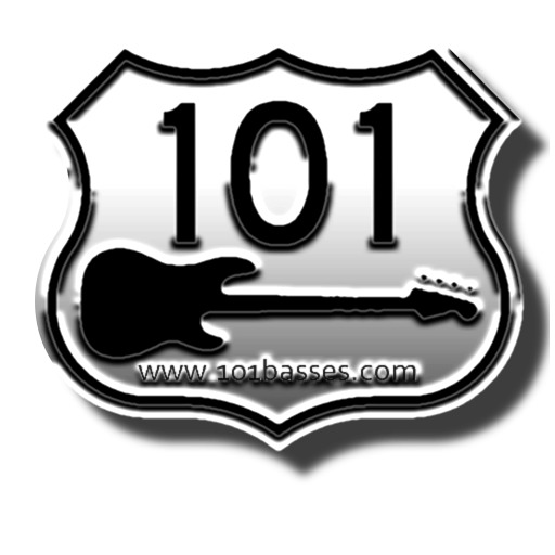 101 Basses Logo [101US-NEW-SH-SQ2]