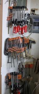 A ton-o-clamps