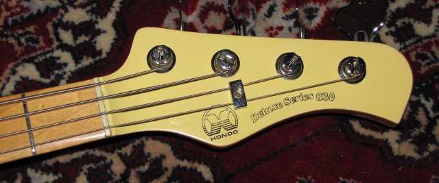 Bass number 91 hondo deluxe series 830 bass guitar 101 basses hondo p bass head swarovskicordoba Images
