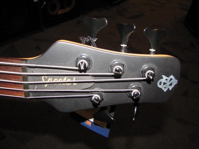 Spector 5-string Headstock