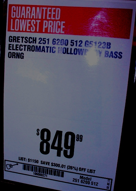 Gretsch G5123 Bass Guitar - Price at Guitar Center