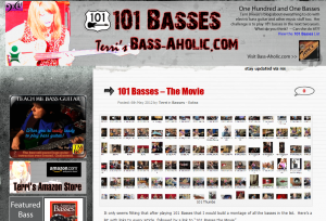 May 2012 Completion of 101 Basses