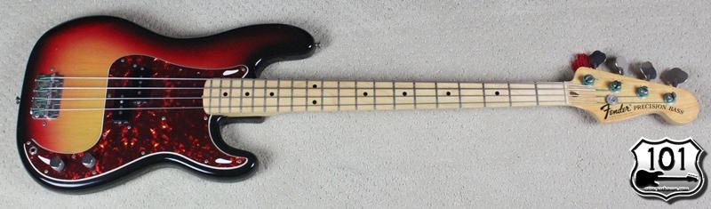 1975 Fender Precision Bass Review